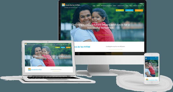 Casa de los Niños made by Single Focus Web