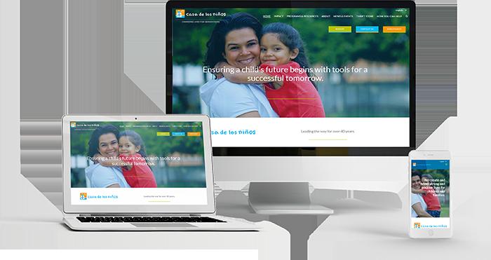 Casa de los Niños website