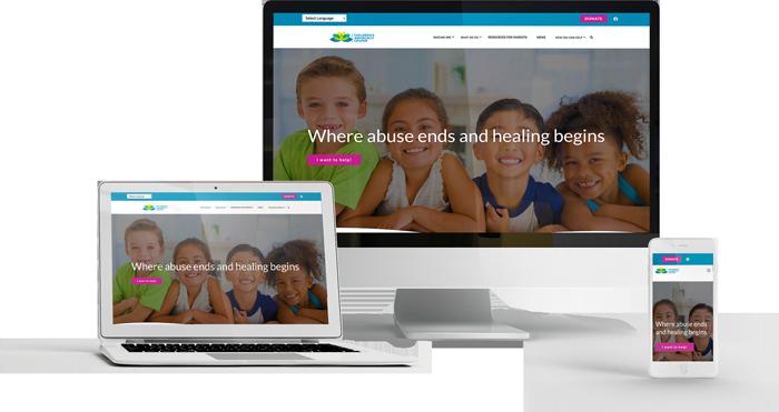 Children's Advovocacy Center New Website