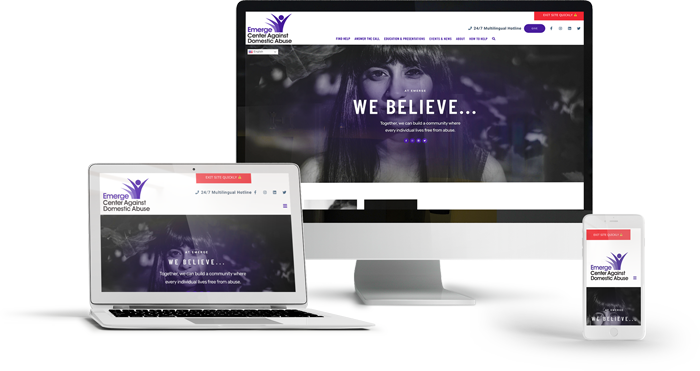 Emerge Center New Website
